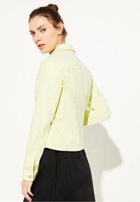 comma casual identity - Denim jacket - lemon - 2