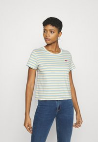 Levi's® - SURF TEE - Basic T-shirt - blue topaz - 0