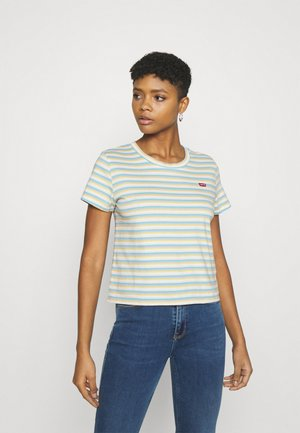 SURF TEE - T-shirts basic - blue topaz