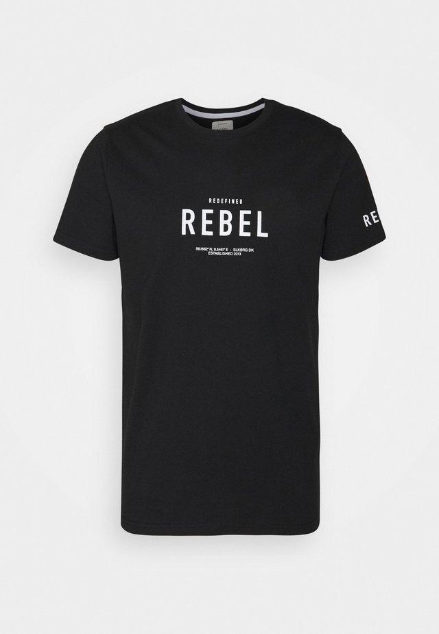 RONAN TEE - T-shirt print - black
