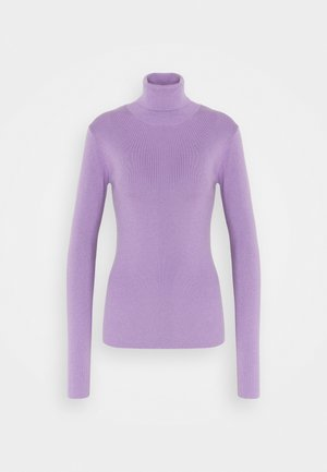 KIRSTEN TURTLENECK - Jumper - milky purple
