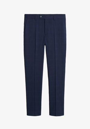 BRASILIA - Spodnie garniturowe - dark navy blue