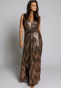 Ulla Popken - Maxi dress - gold multi - 0
