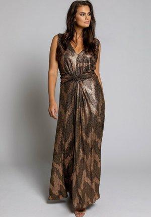 Maxi dress - gold multi