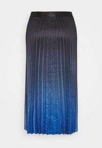 comma - A-line skirt - blue - 1
