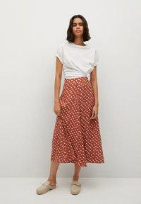 Mango - A-line skirt - braun - 1