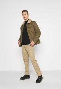 Schott - CRUISER - Light jacket - kaki - 1