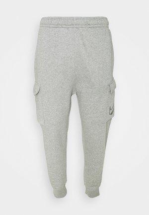CARGO PANT - Cargo trousers - dark grey heather