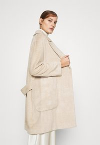 Whistles - DRAWN COCCON COAT - Classic coat - oatmeal - 4