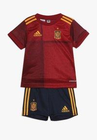 adidas Performance - SPAIN FEF HOME JERSEY - Sportovní kraťasy - red - 0