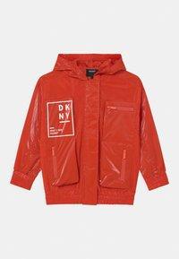DKNY - HOODED - Light jacket - poppy - 0