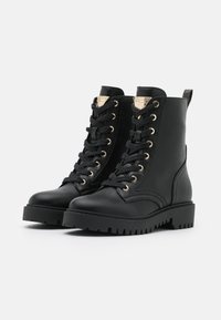 Guess - OLINIA - Lace-up ankle boots - black - 2