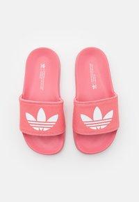 adidas Originals - Sandalias planas - hazy rose/footwear white - 4