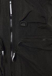 Criminal Damage - UTILITY VEST - Waistcoat - black - 2