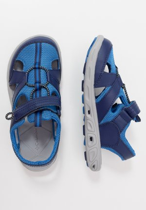 CHILDREN TECHSUN WAVE UNISEX - Walking sandals - cousteau/deep yellow