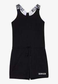 Calvin Klein Swimwear - ROMPER INTENSE POWER - Jumpsuit - black - 0