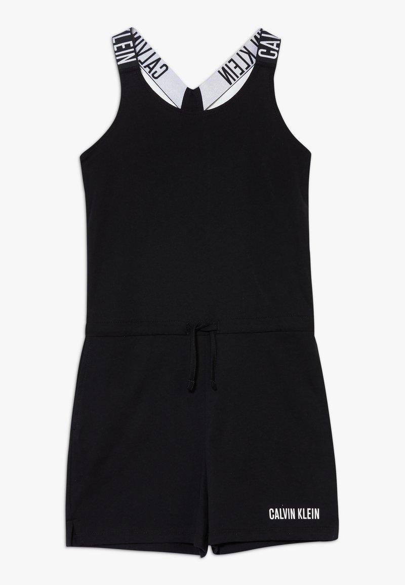 Calvin Klein Swimwear - ROMPER INTENSE POWER - Jumpsuit - black