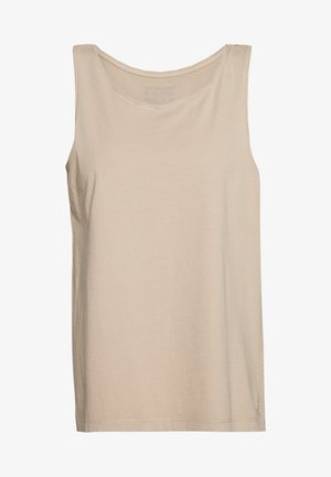 COTTON TOP - Top - skin beige