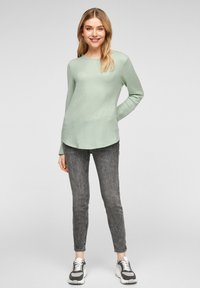 Q/S designed by - LONG SLEEVE - Jumper - mint - 1