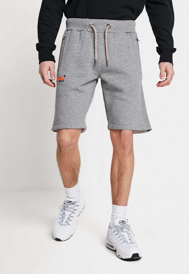 LABEL CALI - Tracksuit bottoms - hammer grey grindle