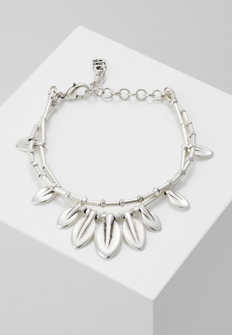 UNOde50 - MY NATURE FEATHER BRACELET - Bracciale - silver-coloured
