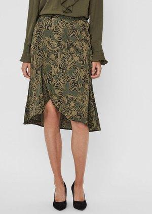 ROCK  - A-line skirt - ivy green