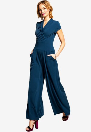 Jumpsuit - teal