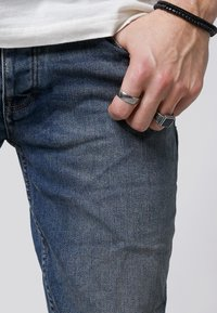 Tigha - MORTY - Slim fit jeans - vintage mid blue - 3