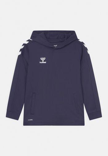 CORE POLY HOODIE UNISEX - Hoodie - marine
