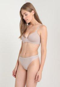 Calvin Klein Underwear - THONG - Thong - grey - 1