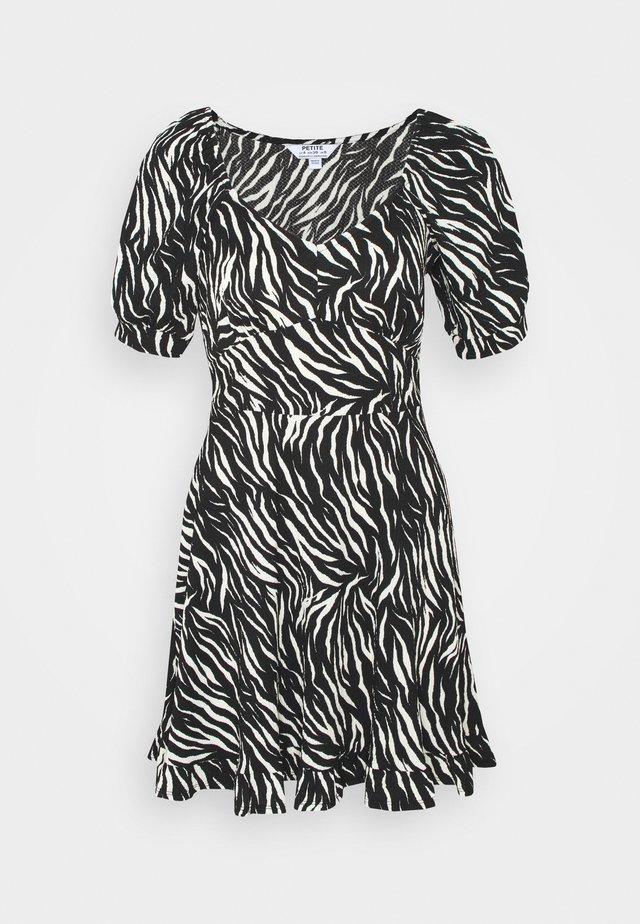 FAUCHETTE DRESS - Denní šaty - black