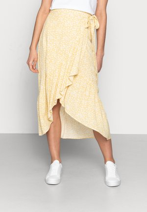 SKIRT WENDY - A-line skjørt - dusty yellow