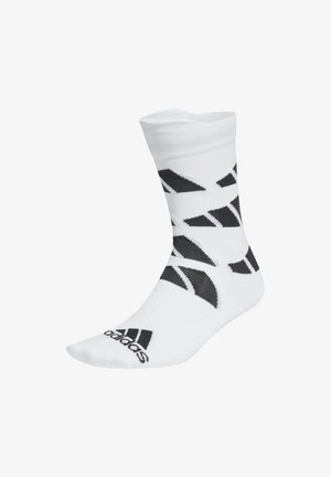 ULTRALIGHT ALLOVER GRAPHIC CREW PERFORMANCE SOCKS - Urheilusukat - white