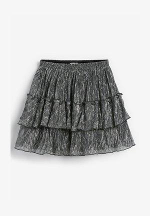 SPARKLE TIERED - A-snit nederdel/ A-formede nederdele - silver
