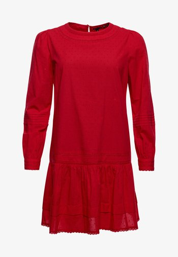 LACE MINI  - Day dress - campus red