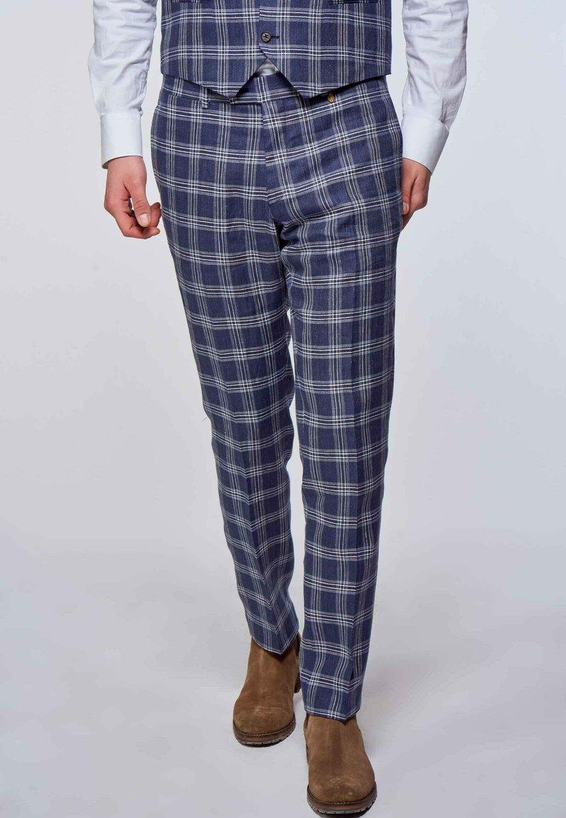 MDB IMPECCABLE - Suit trousers - dark blue