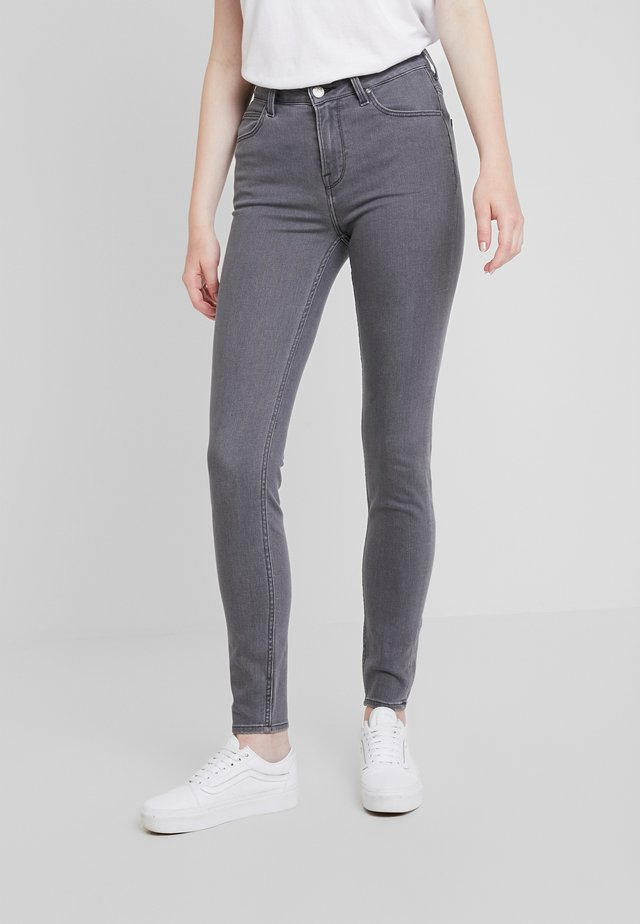 SCARLETT HIGH - Jeans Skinny Fit - grey alma