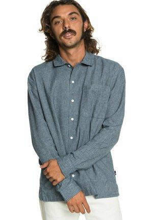 Shirt - orion blue hemp check