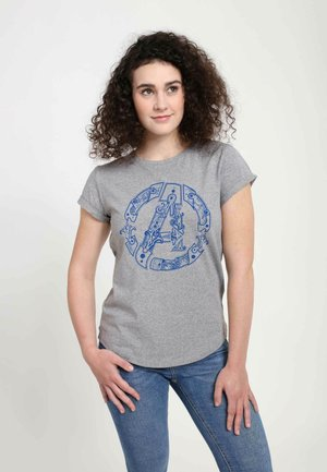 MARVEL AVENGER HILT  - T-shirts print - melange grey