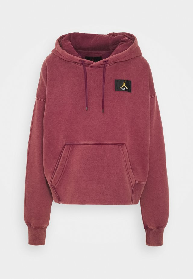 FLIGHT - Kapuzenpullover - bordeaux