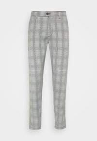 Shine Original - CHECKED CLUB TROUSERS - Pantalon classique - grey - 3