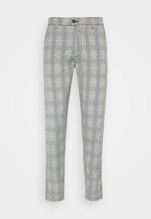 CHECKED CLUB TROUSERS - Kalhoty - grey