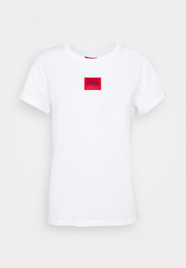 THE SLIM TEE - T-shirt z nadrukiem - white