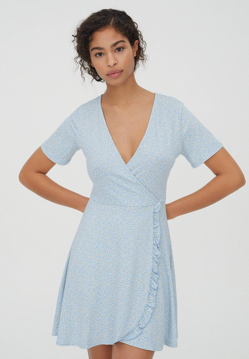 PULL&BEAR - Day dress - light blue