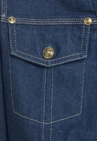 Versace Jeans Couture - LADY JACKET - Kurtka jeansowa - indigo - 7