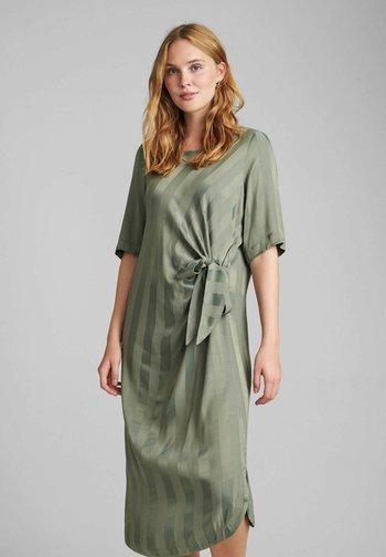 NUBELIA  - Day dress - agave green