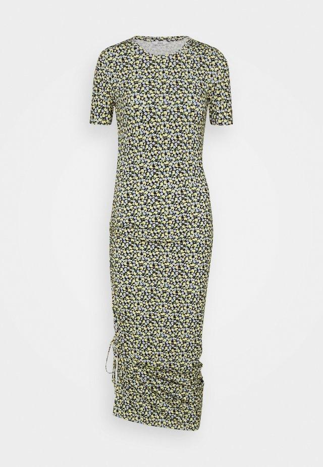 ENZOE DRESS  - Vestito di maglina - himalaya poppy