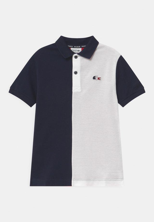 OLYMP UNISEX  - Poloshirt - navy blue/white/red