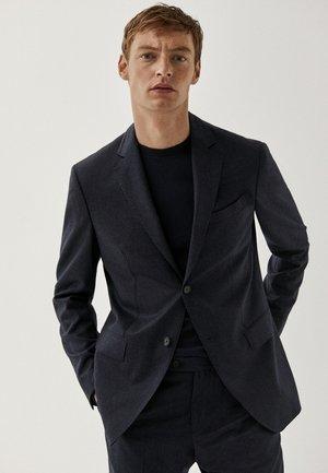 DER QUALITÄT SUPER - Blazer jacket - dark blue