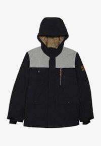 Quiksilver - RAFT YOUTH  - Snowboard jacket - black - 0